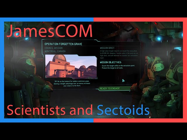 JamesCOM: Scientists and Sectoids – XCOM Classic Difficulty