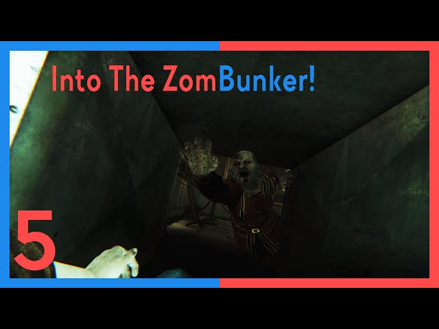 Straight Right's Zombi: Into The ZomBunker!