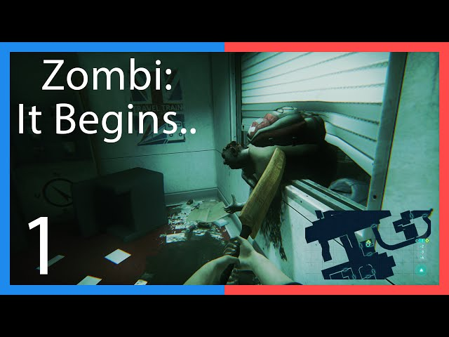Straight Right's Zombi: It Begins…