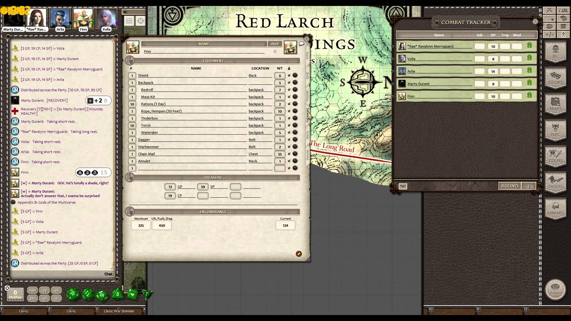 Fantasy Grounds Dungeons And Dragons Campaign: