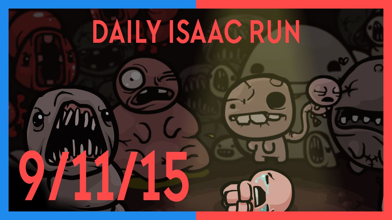 Daily Dose Of Isaac: 9th November, 2015
