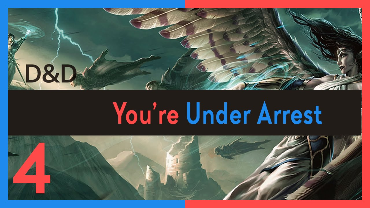 Fantasy Grounds Campaign: You're Under Arrest!