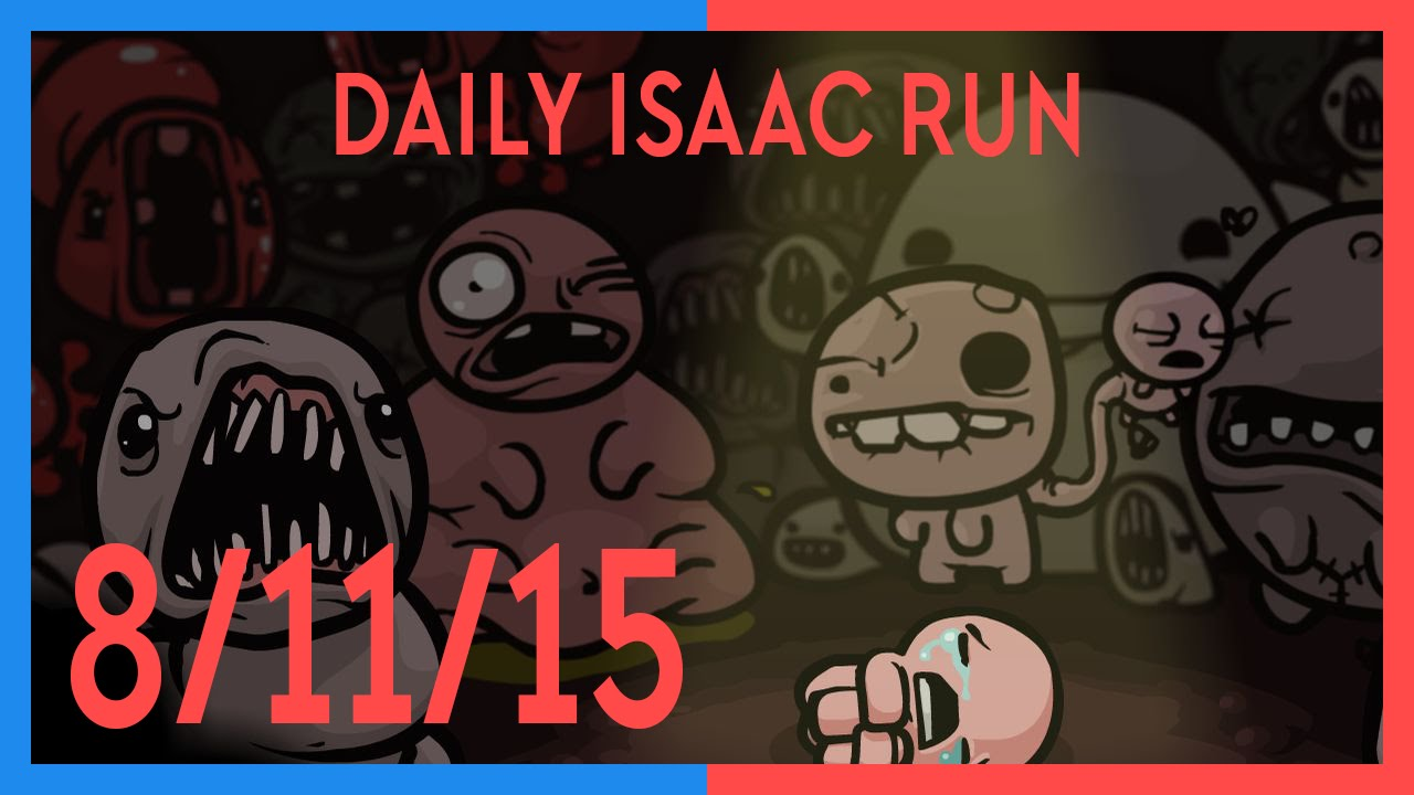 Daily Does Of Isaac: 8th November, 2015
