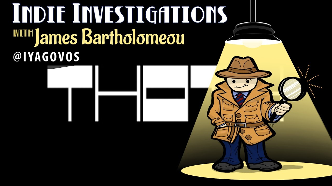 Indie Investigations: THOTH